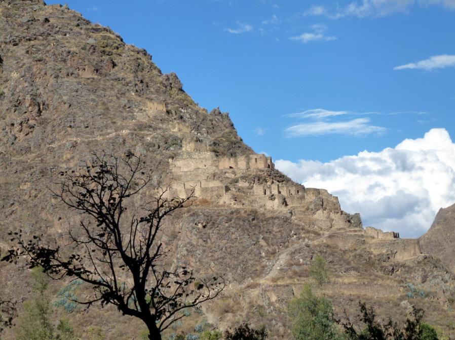 Granaries at Ollantaytambo