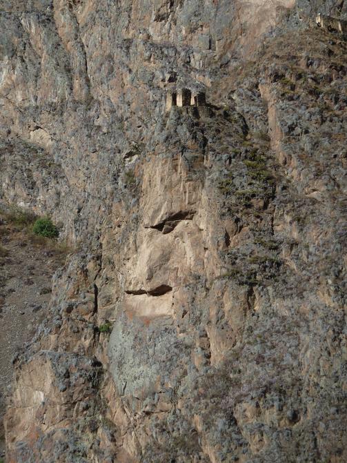 Face at Ollantaytambo