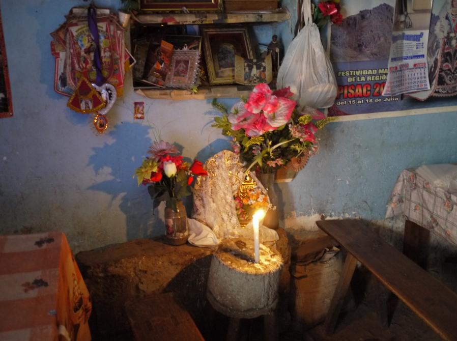 Shrine to Pacha Mama - Pisac