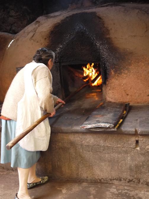 Making empanadas the traditional way