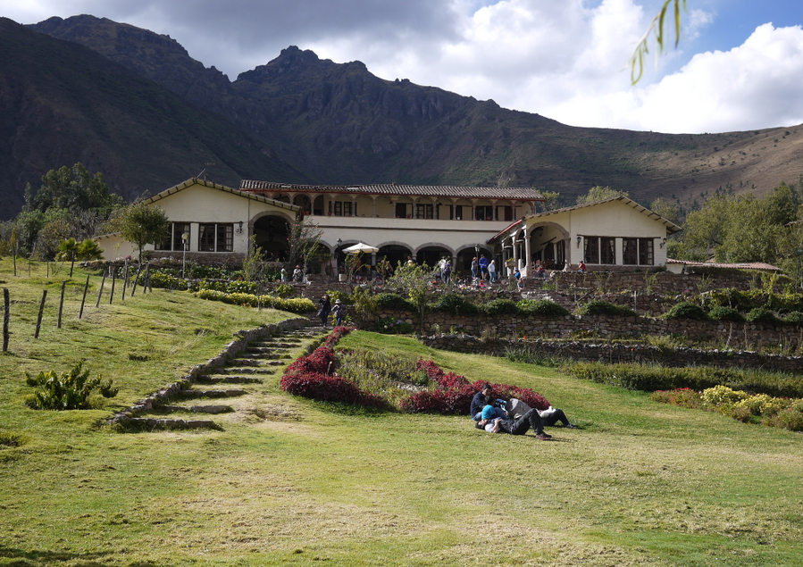 Lunch in the Sacred Valley