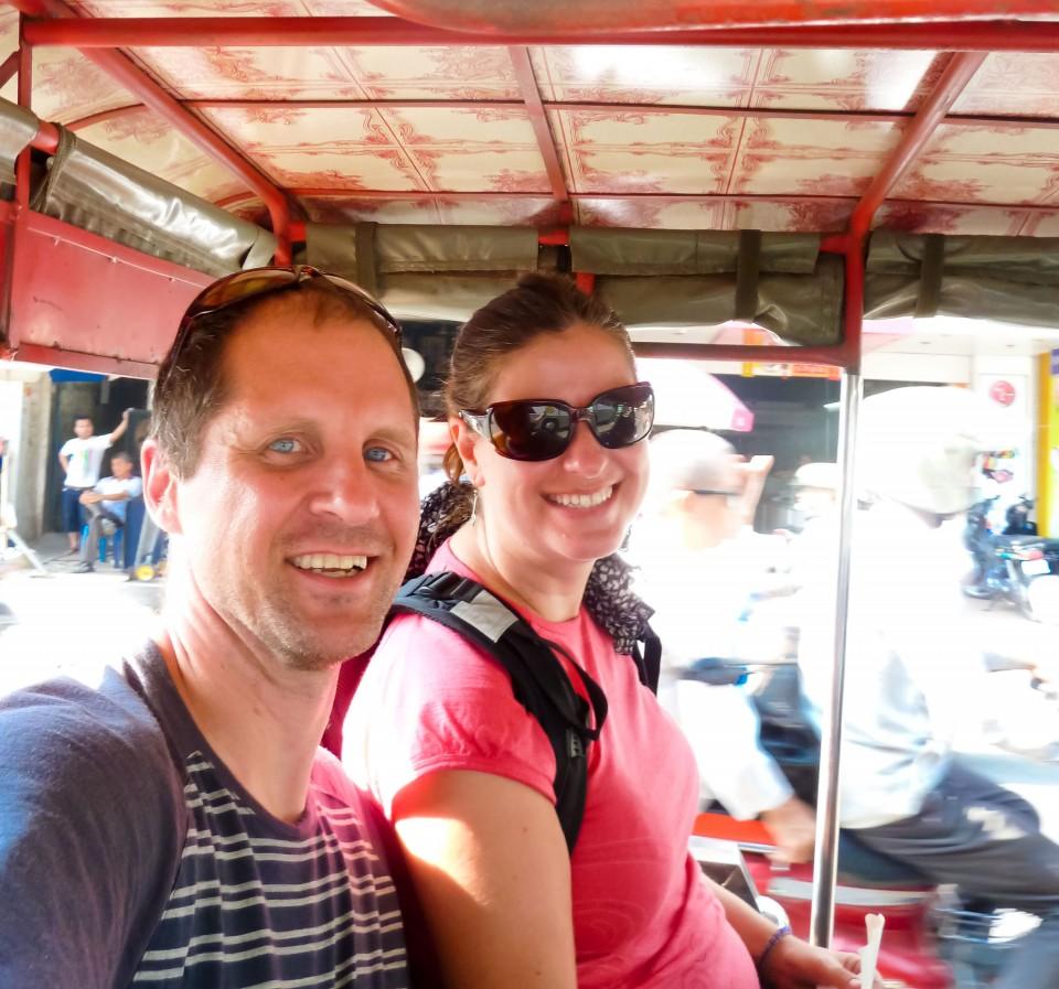 Traveling Phnom Penh by Tuk Tuk
