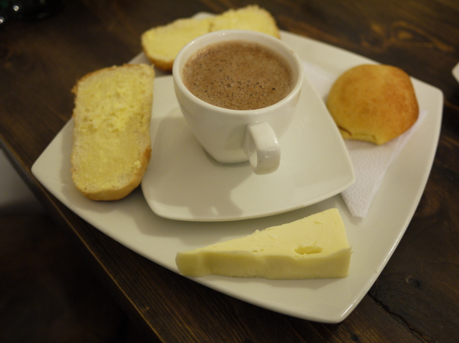 Chocolate con Queso