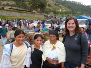 The Artisan Market in Otavalo, Ecuador