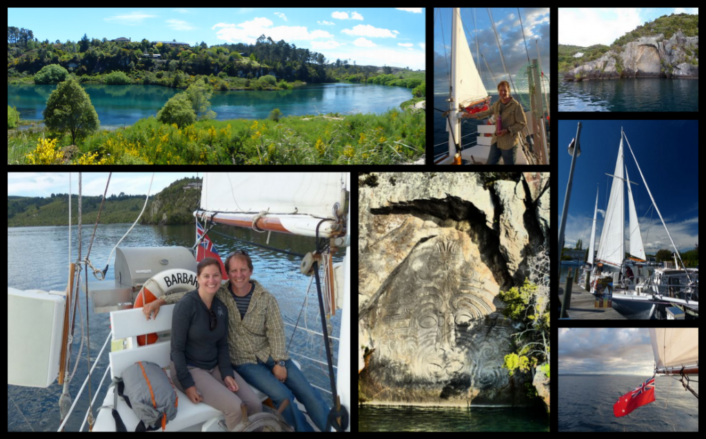 Lake Taupo Collage