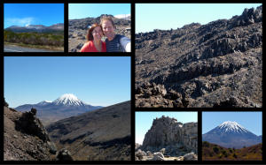 Taupo-Mordor-Waitomo Collage