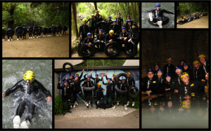Waitomo Caves Rafting Collage