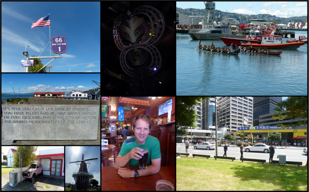 Wanganui to Wellington Collage