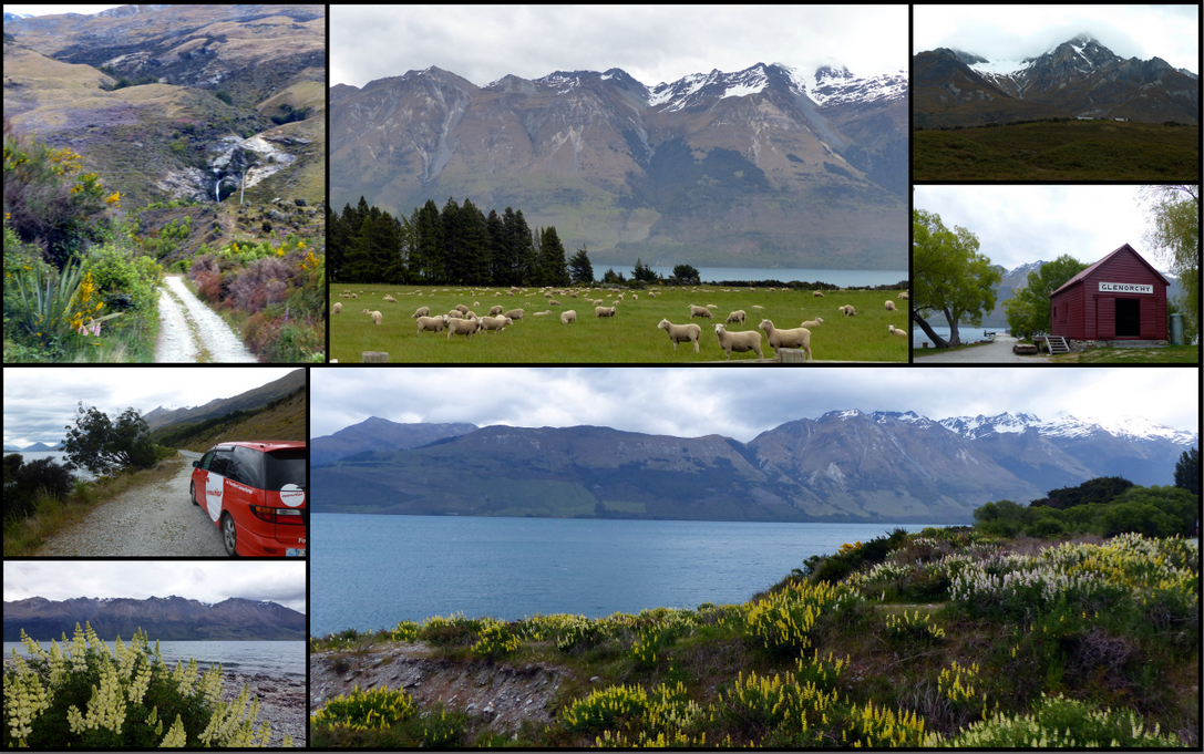 Photos from our drive to Glenorchy along Lake Wakatipu