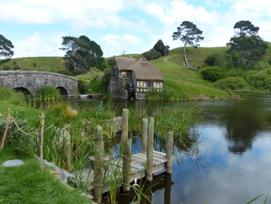 Mill at hobbiton