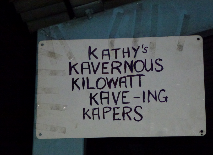 Sign at Power Station