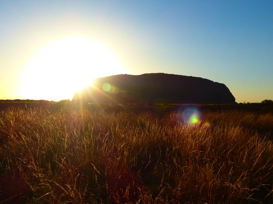 Sunrise on Uluru