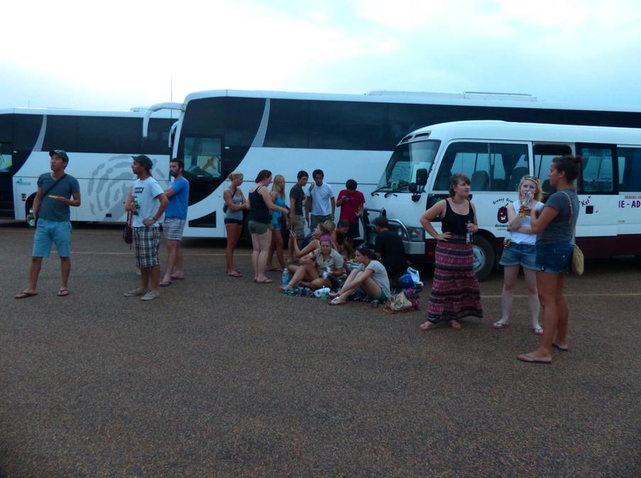 Tailgating at Uluru