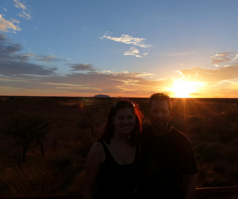 Us at Uluru4 AM