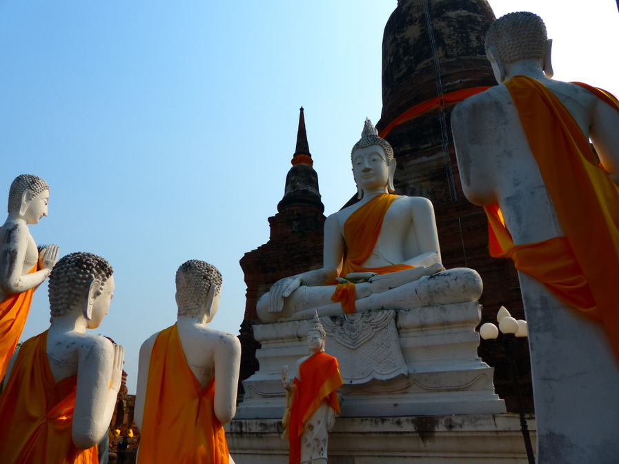 White Buddhas