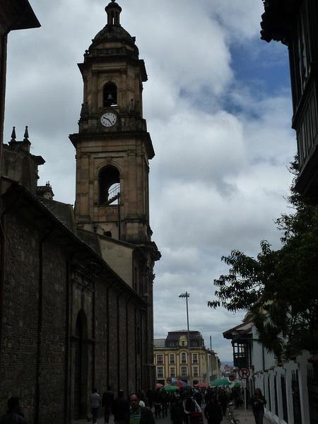 Spire in Bogota