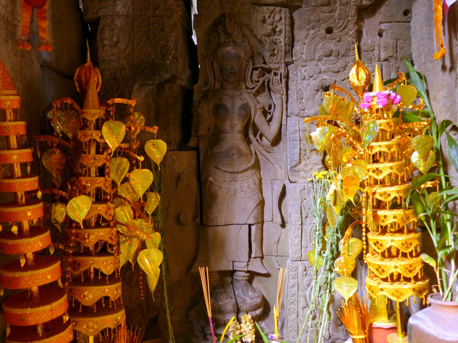 Shrine to a Queen - one of Jayavarman VII's two sister-wives.
