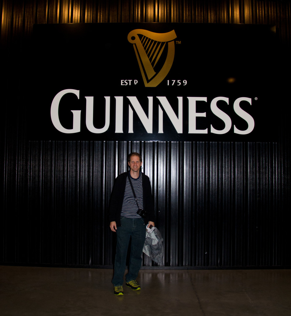 Kyle at Guinness