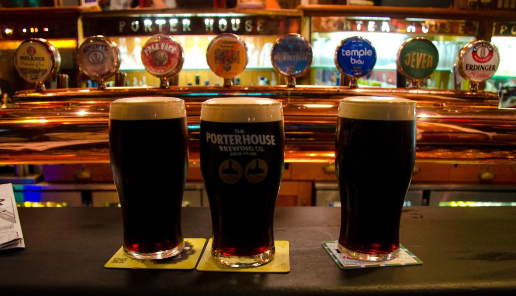 Pints in Dublin