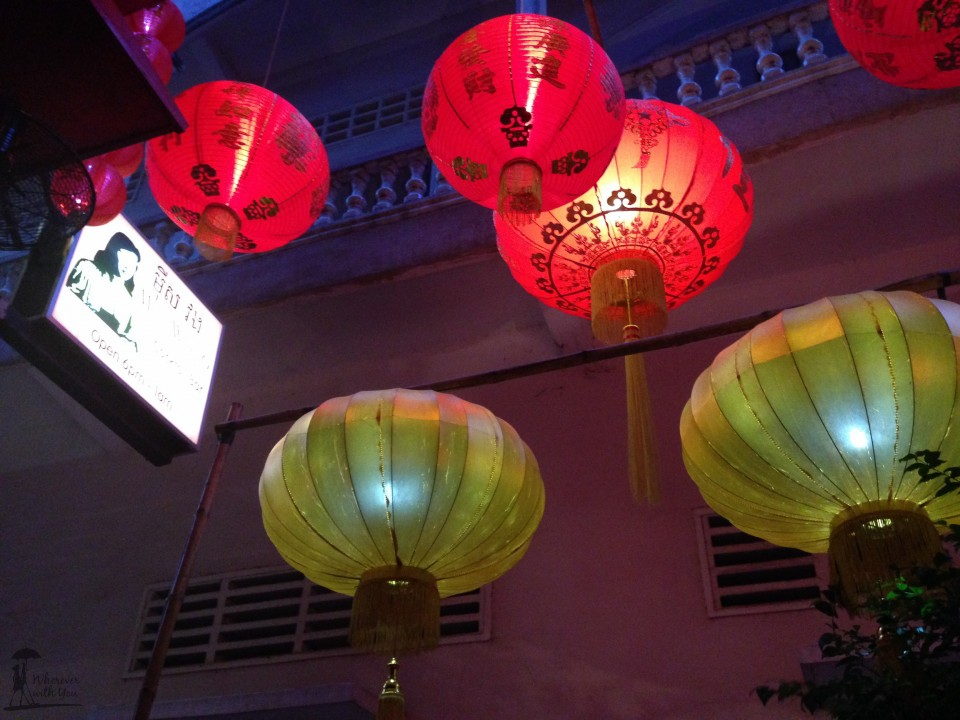 Lanterns over Miss Wong's, one of our favorite little hideaway bars. Mocha martini, anyone?