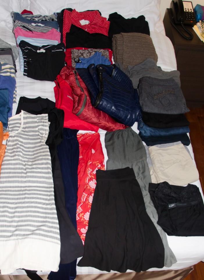 Kathy's Travel Wardrobe