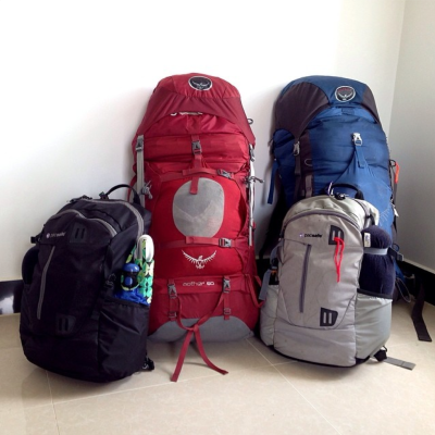 What's In Our Packs – Clothing
