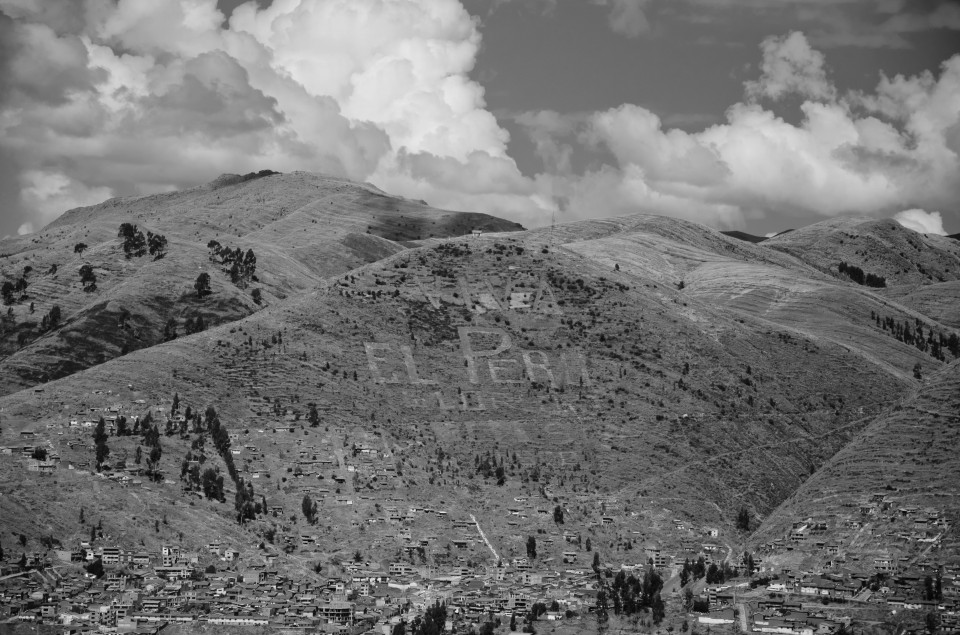 The hills outside of town as seen from Saqsayhuayman.