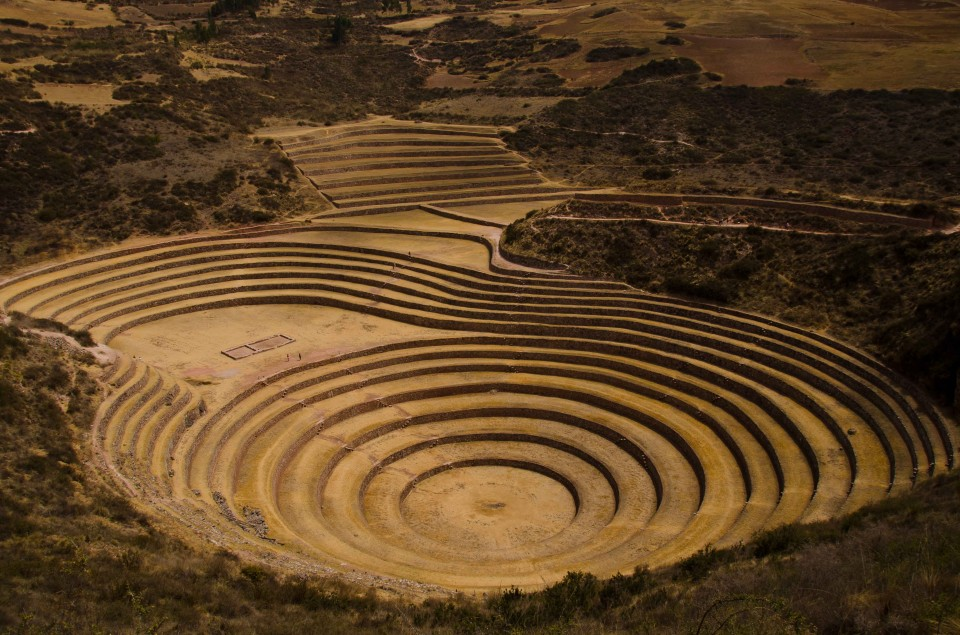 The womb and phallus terraces of Moray