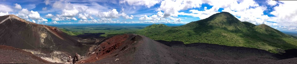 View from the top of Cerro Negro