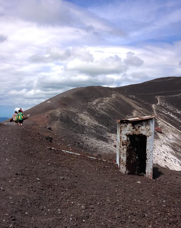 Volcanic Bathroom