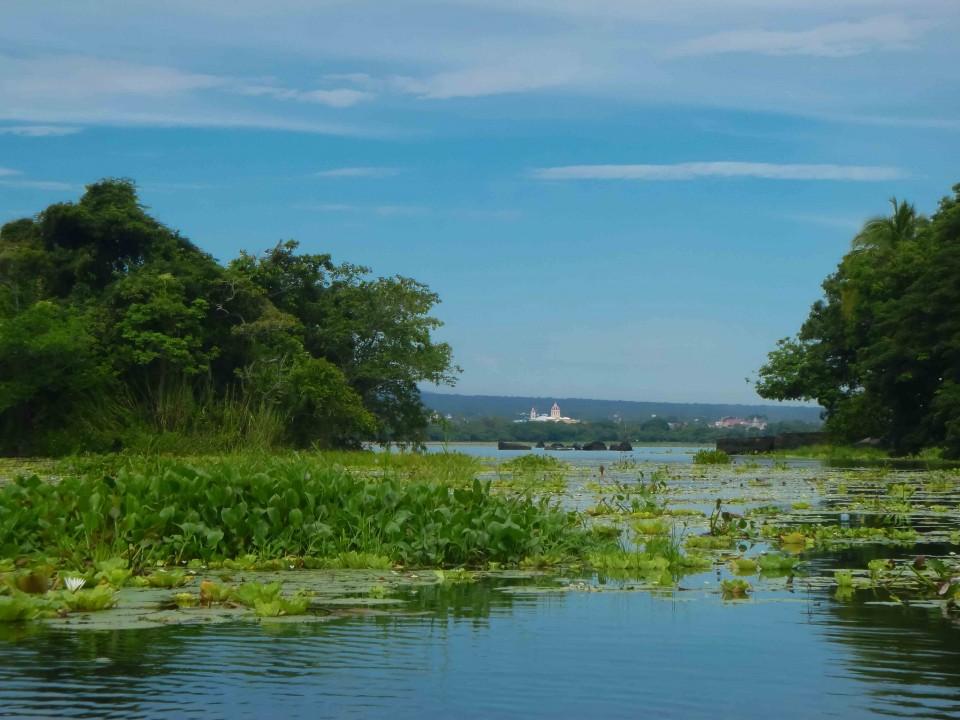 View of Granada from Lake Nicaragua
