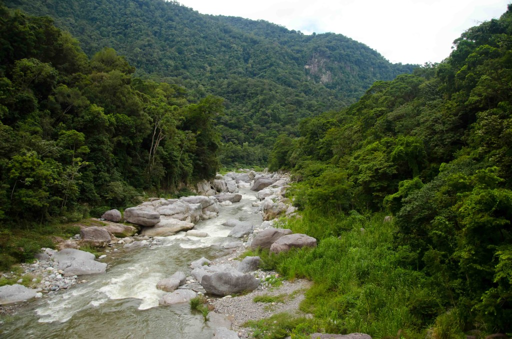 Rio Cangrejal - some of the best rafting in Central America