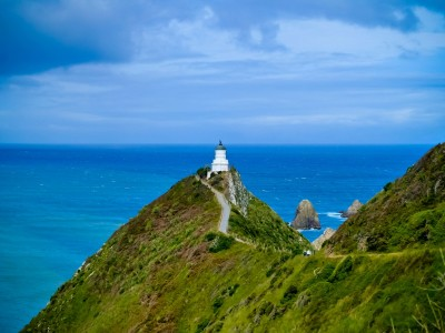 Flashback Friday: The Lighthouse at Nugget Point