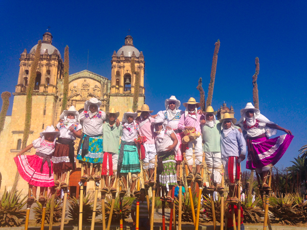 {The Stilt Dancers of Zaachila, a pueblo out in the valley outside Oaxaca}