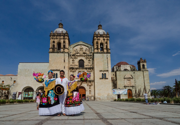 {Just your average typical afternoon in Oaxaca}
