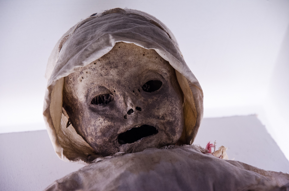 {Adults weren't the only ones who became mummified. There are quite a few young children and babies as well.}